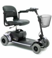 Pride Go-Go Elite Traveller Plus HD - 4 Wheel Travel Scooter disc. 12/12