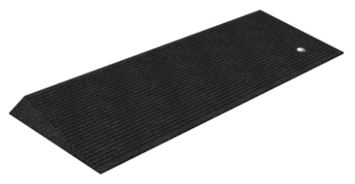 Rubber Beveled Threshold Ramp 1.5, Box of 2